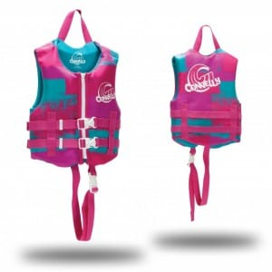 VESTA WAKEBOARD CONNELLY 2016 GIRL'S CHILD CGA NEO VEST