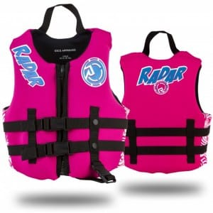 VESTA WAKEBOARD RADAR 2016 AKEMI CHILD VEST