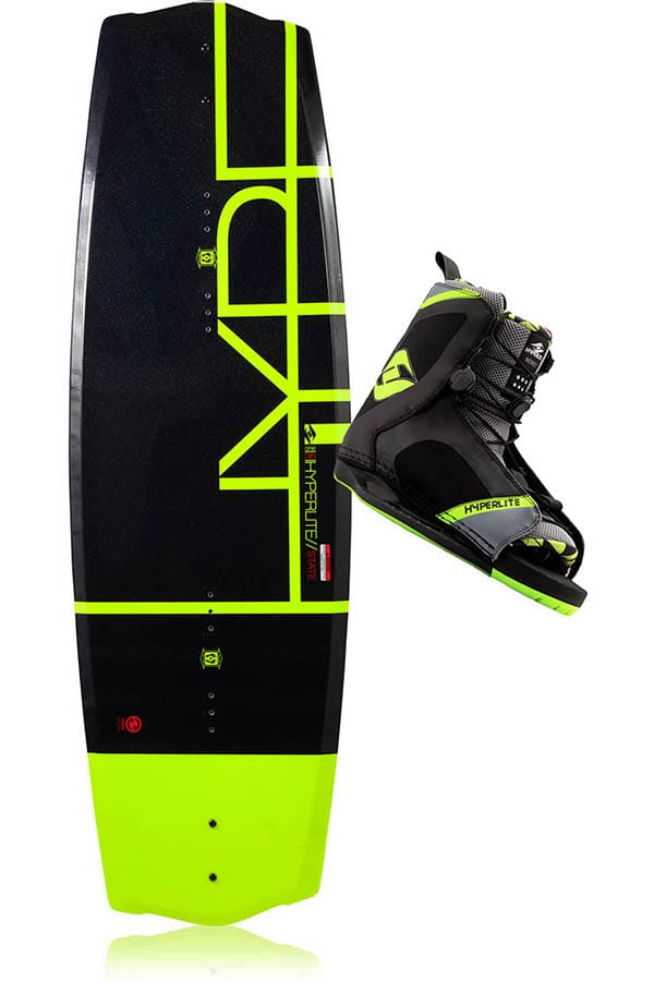 PACHET WAKEBOARD HYPERLITE 2015 STATE 2.0 WAKEBOARD + REMIX BOOTS