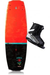 PACHET WAKEBOARD HYPERLITE 2015 FRANCHISE JR WAKEBOARD + REMIX BOOTS