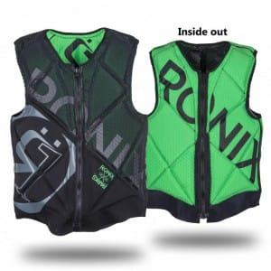 VESTA WAKEBOARD RONIX 2016 PARKS ATHLETIC CUT REVERSIBLE IMPACT VEST