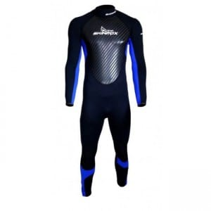 COSTUM NEOPREN SKINFOX 2016 FULLSUIT ADULT 3MM - BLUE