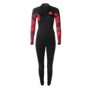 COSTUM NEOPREN BRUNOTTI 2016 DEFENCE 5/3 D/L WOMEN WETSUIT RED