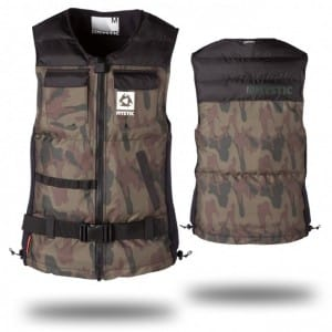 VESTA WAKEBOARD MYSTIC 2016 VOLTAGE WAKEBOARD VEST - ARMY