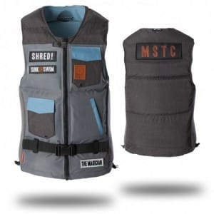 VESTA WAKEBOARD MYSTIC 2016 THE MAGICIAN WAKEBOARD VEST - GREY