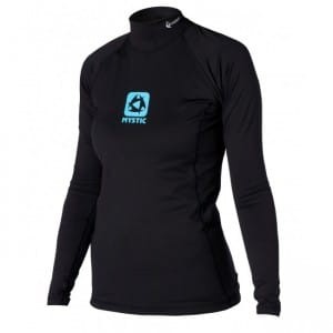 BLUZA WAKEBOARD MYSTIC 2016 BIPOLY THERMO VEST L/S WOMEN - BLACK