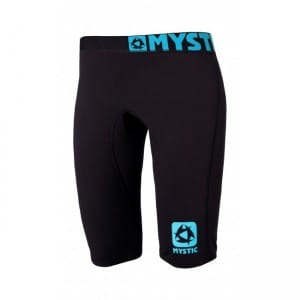 PANTALONI SCURTI WAKEBOARD MYSTIC 2016 BIPOLY SHORT PANTS WOMEN - BLACK