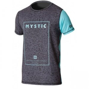 TRICOU WAKEBOARD MYSTIC 2016 BLOCK QUICK DRY S/S - MINT
