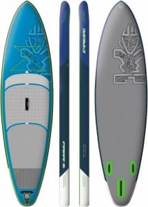 PLACA SUP GONFLABILA STARBOARD 2016 ALL ROUND WIDE POINT - STAND UP PADDLEBOARD