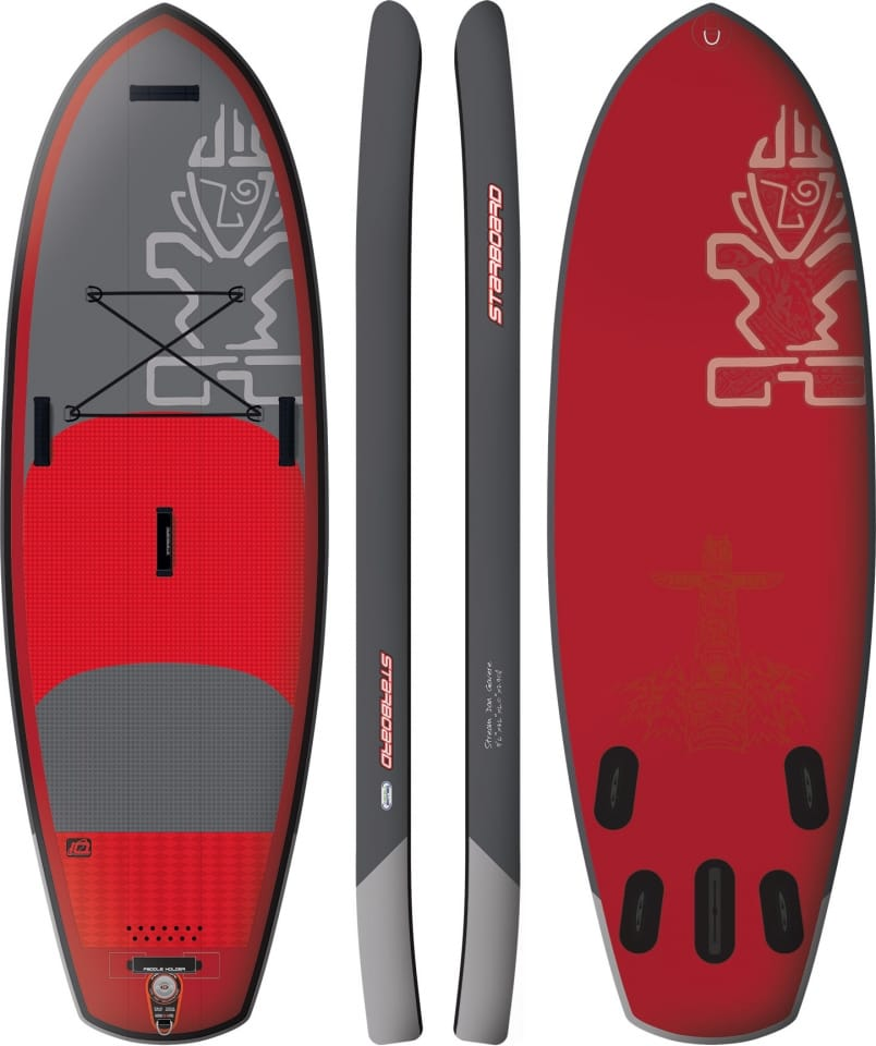 PLACA SUP GONFLABILA STARBOARD 2016 STREAM 9'6'' X 36'' X 6'' - STAND UP PADDLEBOARD