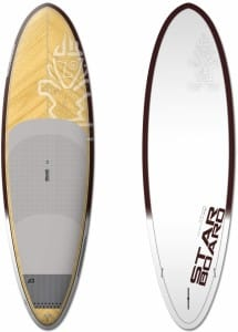 PLACA SUP RIGIDA STARBOARD 2016 WHOOPER WOOD 10'0'' X 34'' X 4'3'' - STAND UP PADDLEBOARD