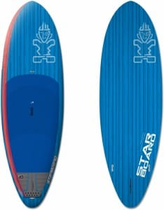 PLACA SUP RIGIDA STARBOARD 2016 HERO BLUE CARBON 9'0'' X 33'' X 4'2'' - STAND UP PADDLEBOARD