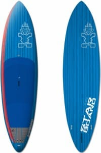 PLACA SUP RIGIDA STARBOARD 2016 WIDE POINT BLUE CARBON - STAND UP PADDLEBOARD