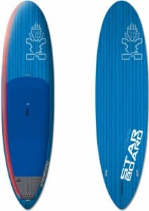 PLACA SUP RIGIDA STARBOARD 2016 ELEMENT BLUE CARBON 9'8'' X 30'' X 4'1'' - STAND UP PADDLEBOARD