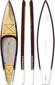 PLACA SUP RIGIDA STARBOARD 2016 ELITE TOURING WOOD - STAND UP PADDLEBOARD