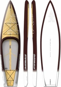 PLACA SUP RIGIDA STARBOARD 2016 POCKET TOURING WOOD 10'6'' X 29'5'' - STAND UP PADDLEBOARD