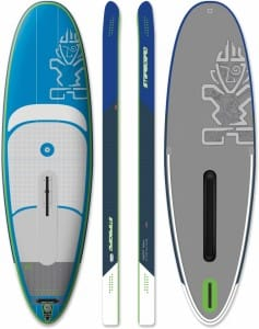 PLACA SUP RIGIDA STARBOARD 2016 WINDSUP INFLATABLE DELUXE - STAND UP PADDLEBOARD