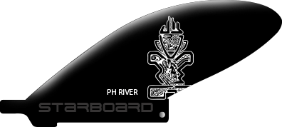 FIN SUP STARBOARD 2016 CENTER FIN INJECTION MOLDED PH RIVER