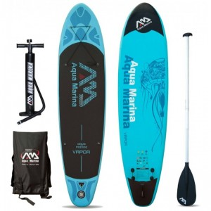 PLACA SUP AQUA MARINA 2016 VAPOR INFLATABLE SUP BOARD PACKAGE
