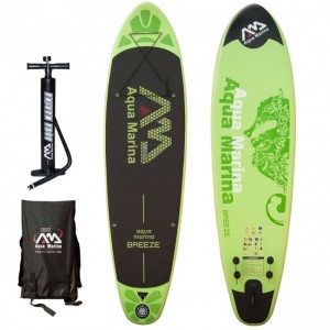 PLACA SUP AQUA MARINA 2016 BREEZE INFLATABLE SUP BOARD PACKAGE