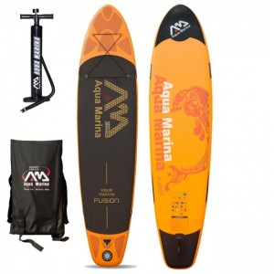 PLACA SUP AQUA MARINA 2016 FUSION INFLATABLE SUP BOARD PACKAGE