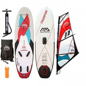 PLACA SUP AQUA MARINA 2016 CHAMPION INFLATABLE SUP BOARD PACKAGE