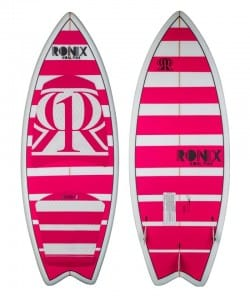 PLACA WAKESURF RONIX 2015 KOAL FISH WOMENS